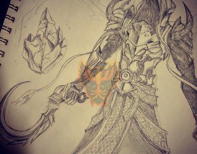 Diablo Character Art