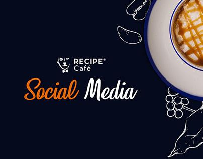 Recipe Cafe KSA l Social Media
