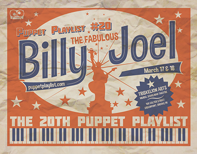 PUPPET PLAYLIST - Branding and Graphics