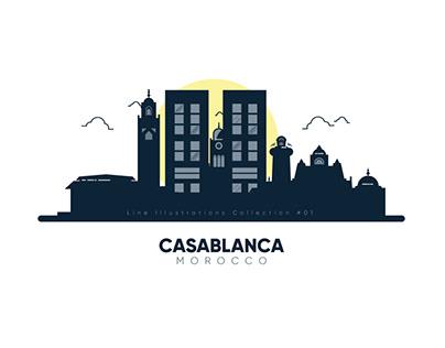 Casablanca - Line Illustrations
