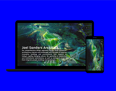 JSA Architect website concept