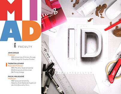 IDSA 2016 Midwest Conference MIAD Faculty  Presentation
