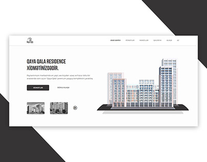 Qaya Qala Residence Website Design & Development