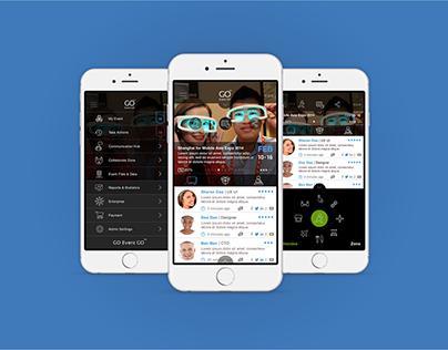 Event Go App UX / UI
