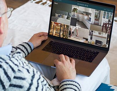 Dixon Rye Online Store Design