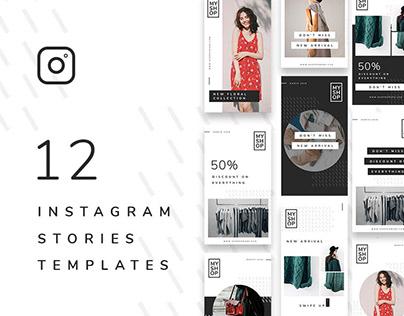 12 Insta Stories / Free PSD