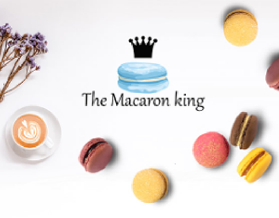 The Macaron King - Visual Identity