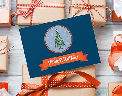 Christmas @ Movinga: Cards and Animated Video