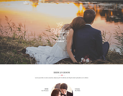 Wedding Tale - Responsive Wedding Template