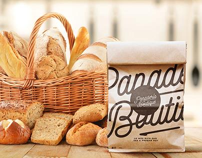 Panadería Boutique, Branding de marca.