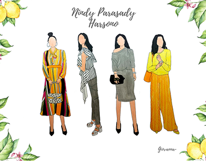 Nindy P.H - Fashion Illustration