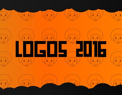 Logos 2016 por Edmilson Jr.