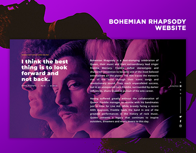 Bohemian Rhapsody Website