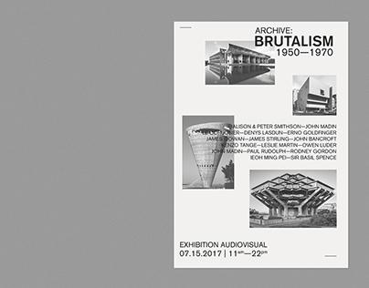 ARCHIVE: BRUTALISM