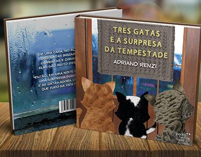 Três Gatas e A Surpresa da Tempestade