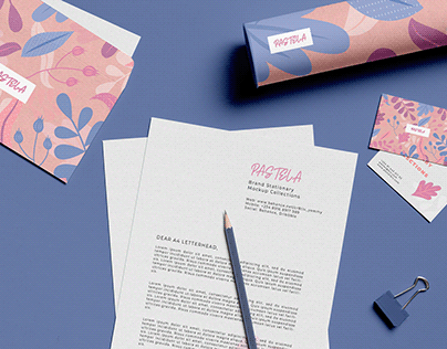 Stationary Mockup Sets Freebiee