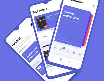Educational app UX/UI