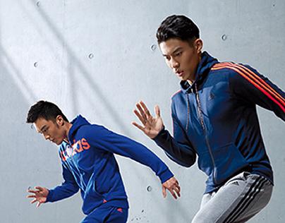 2015 adidas training-Price communication KV
