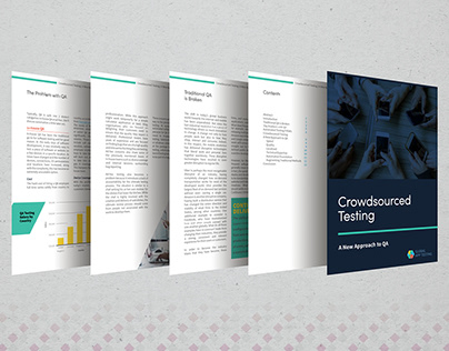 White Paper: layout design, infographic, typesetting