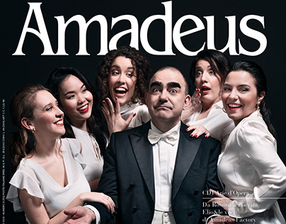 Amadeus, Mar 2019: cover & backstage