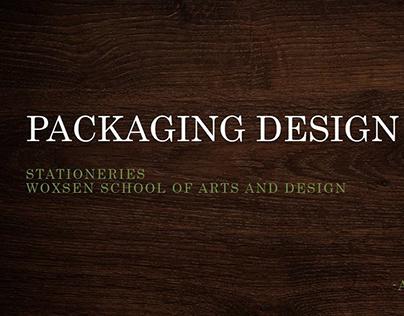 Stationary Packaging Design For Alumni Or Guest Vistors