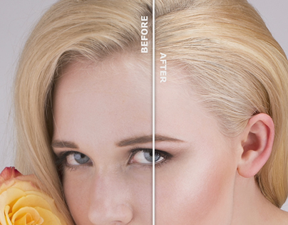Before/After Retouch