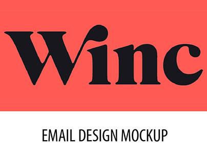 Winc - Email Design Mockup