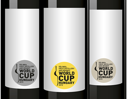 Pálinka World Cup logo design (2012)