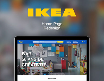 IKEA - Webdesign
