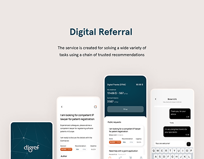 DigRef Blockchain Platform