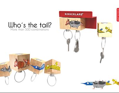 Who´s the tail?   Kikkerland  &  Sanborns Workshop