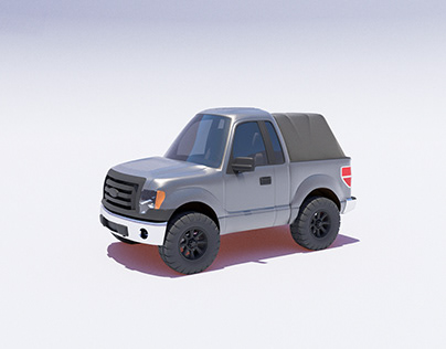 Silly F150 Caricature