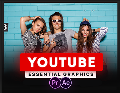 Youtube Essential | After Effects Template and Premiere