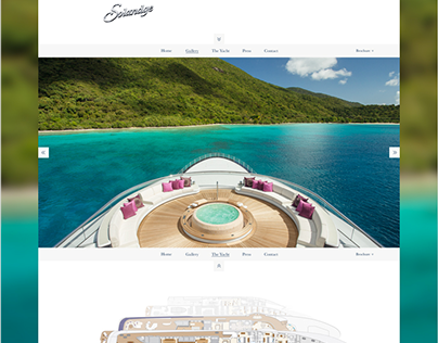 Solandge Yacht Website