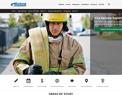 Bates Technical College Website Redesign & Launch