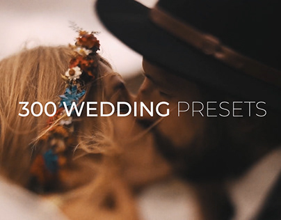 300 Wedding Color Presets