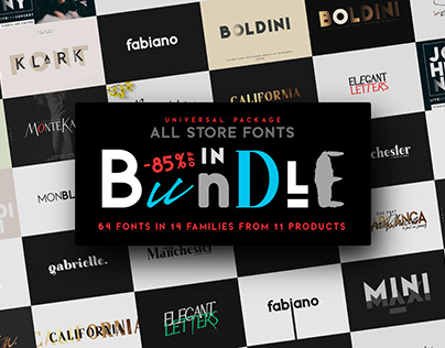 BUNDLE - ALL FONTS STORE IN ONE