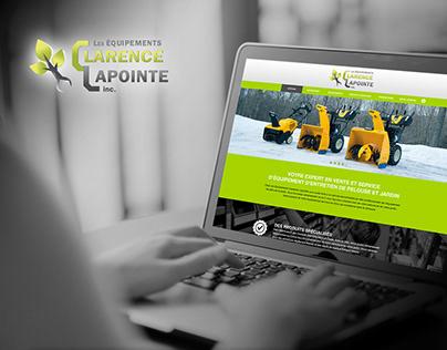 Site Web   Équipements Clarence Lapointe