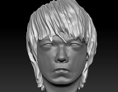 ZBrush: Self-Portrait