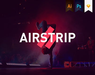 Airstrip, event complex - Branding