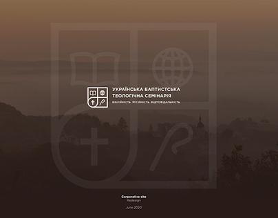 Corporative site for UBTS
