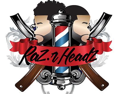 Raz.r Headz Logo Designs