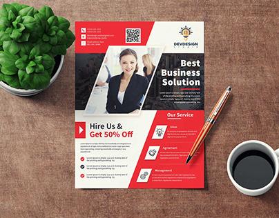 Dev Corporate Business Flyer