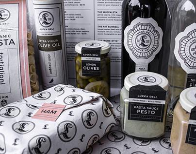 Lucca Delicatessen / Branding