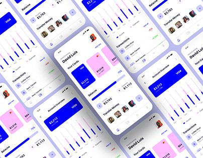Free Finance UI Template