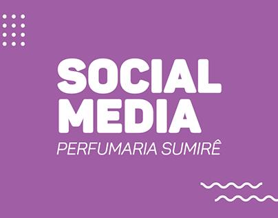 Social Media - Perfumaria Sumirê