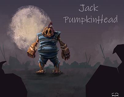 Wizard of Oz Redesign : Jack Pumpkin Head