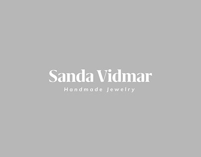 Sanda Vidmar Handmade Jewelry branding