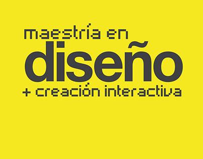 Maestría en Diseño y Creación Interactiva