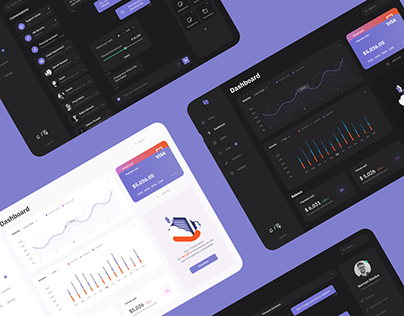 Dashboard UI/UX design
